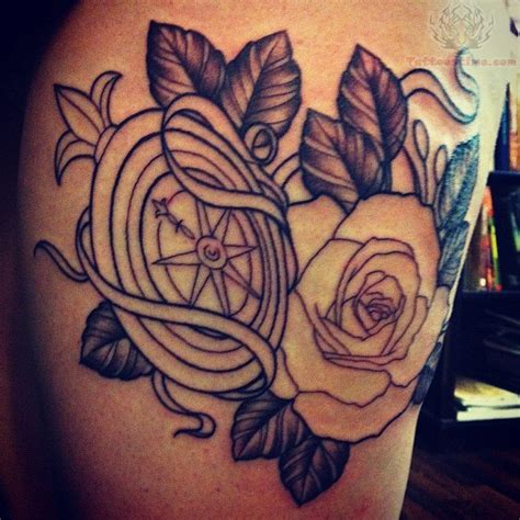 tattoo compass and rose compass tattoos page 52
