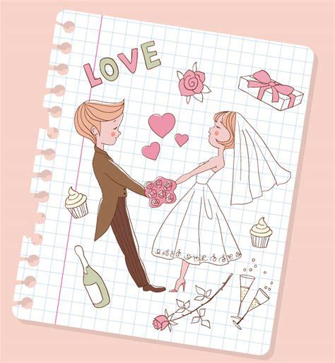 Painted Wedding Heart Illustrator   Free Vector Graphic