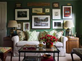 Living Room Ideas Green Walls by Seagrass End Tables Eclectic Living Room