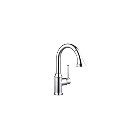 kitchen faucet sprayer diverter hansgrohe 04216000 chrome talis c pull down prep kitchen