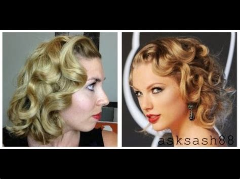 tutorial on how to cut taylor swift haircut taylor swift vma 2013 hair tutorial faux bob curls