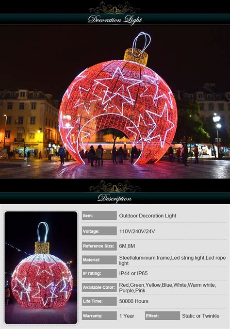 large lighted christmas balls waterproof garden lighted large christmas decoration balls