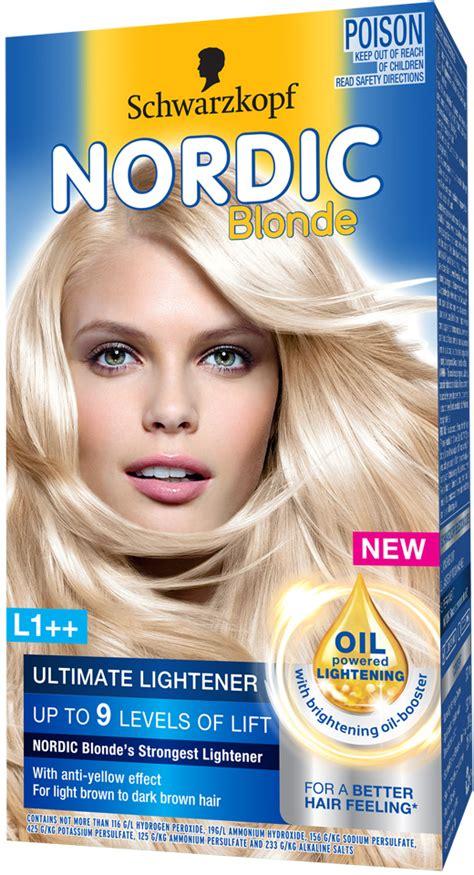 hair color schwarzkopf thr ratio schwarzkopf nordic blonde nordic blonde l1 ultimate