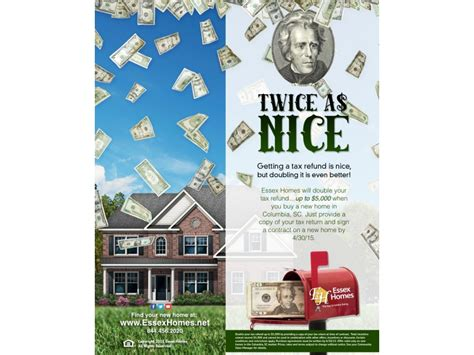 tax return buying a house double your tax return with a new home purchase in columbia irmo sc patch