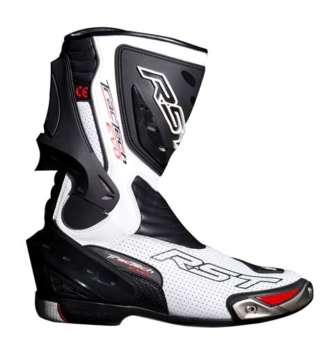 white motorbike boots rst tractech evo ce boots white free uk delivery two