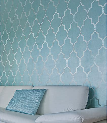 pattern for wall stencil marrakech trellis wall stencil long reusable stencils for