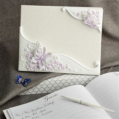 Wedding Guest Book Butterfly Design by Butterfly Design Guest Book Butterfly Wedding Favors