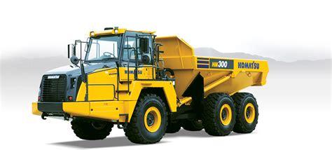 komatsu hm  articulated dump truck operation  maintenance manual  komatsu