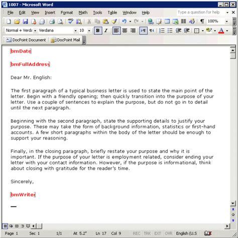 Format Email From | professional business email format template exle sle
