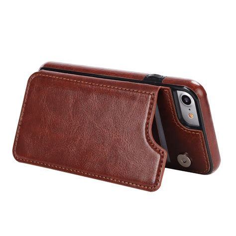 Leather Smartphone Murah leather smartphone with mini wallet for iphone 7 plus