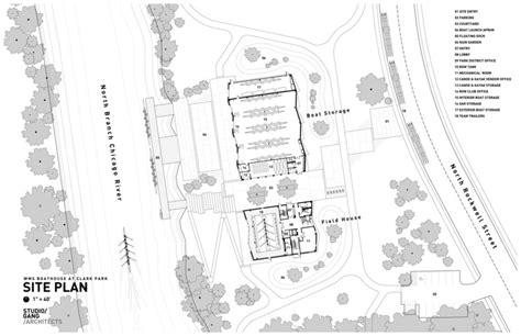 River House Floor Plans wms boathouse at clark park studio gang archdaily