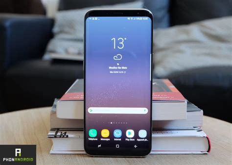 p samsung android galaxy s8 le smartphone android le plus vendu actuellement