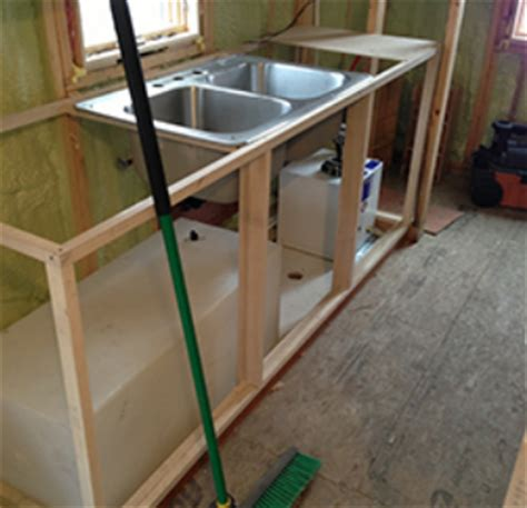 tiny house water tank tiny house plumbing how to get water in and out of your tiny house
