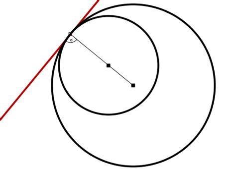 tangentes interiores a dos circunferencias m 243 dulo 9 des a3 nho