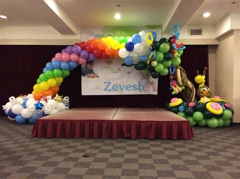 Birthday party balloon arches image inspiration of cake and birthday decoration