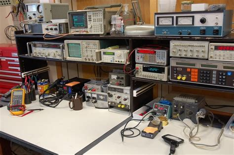 electronics work bench a new ham shack from scratch what would you do qrz forums