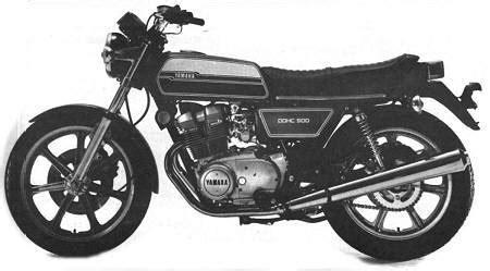 Yamaha Xs500c 1976