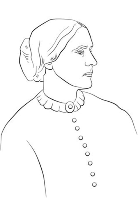 Susan B Anthony Coloring Page 78 best images about history coloring sheets on