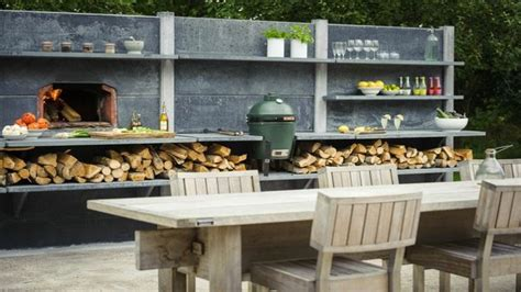 photo cuisine exterieure jardin cuisine exterieure pour l ete idee amenagement