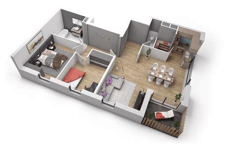 plan maison 3d d appartement 2 pi ces en 60 exemples plan appartement 3 pi 232 ces domaine de la tour fleury 57420