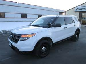 Ford Interceptor Suv 2013 Ford Explorer Interceptor Awd