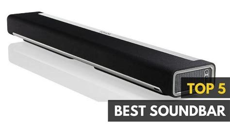top rated sound bars for tv best soundbar