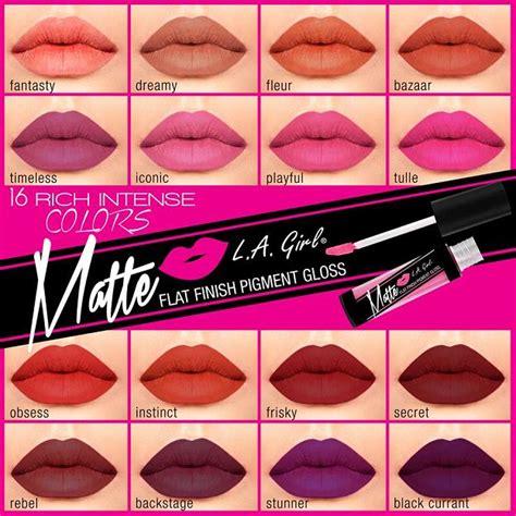 La Matte Pigment Gloss 5 Gr new l a matte pigment glosses 16 shades nouveau
