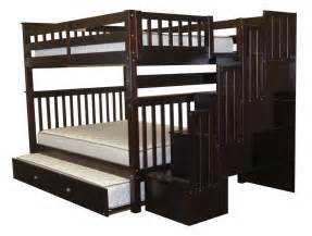 King Size Bed Narrow Staircase Size Bunk Beds With Stairs Home Design Ideas