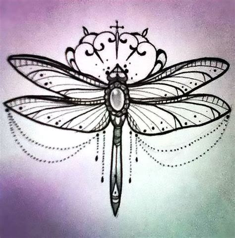 nice girly tattoo designs girly dragonfly design