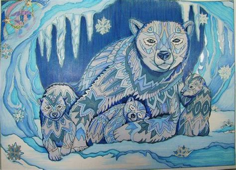 color me 2 polar and cubs color me your way