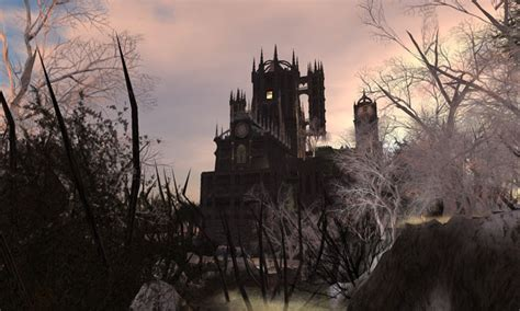 progeny vampire castle and grounds second life