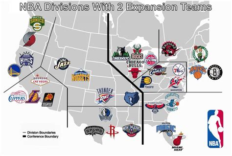 Mba Divisions by Arash Markazi On Quot A 32 Team Nba With Seattle And