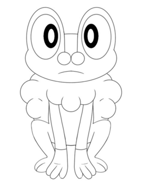 pokemon coloring pages froakie froakie pokemon coloring pages images pokemon images