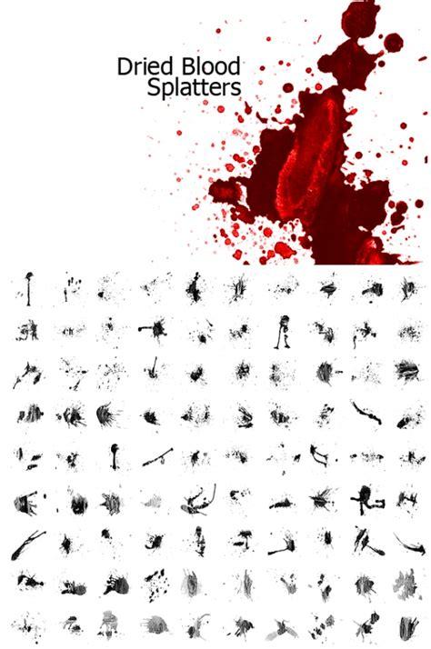 blood splatter brush dried blood splatters photoshop brushes 372 brushking