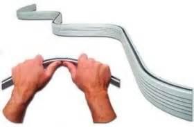 Shower Curtain Rail Curved Duschvorhangschiene Flexible Gardinenschiene Weiss