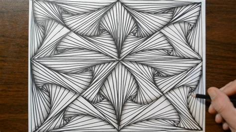 pattern doodle sketch pattern doodle sketch how to draw line illusions youtube