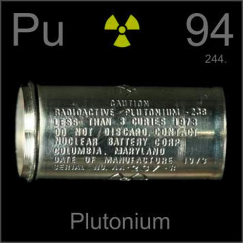 Pu Periodic Table by Pictures Stories And Facts About The Element Plutonium