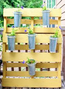 Pallet Gardening Ideas Dishfunctional Designs Creative Ways To Use Pallets Outdoors In Your Garden