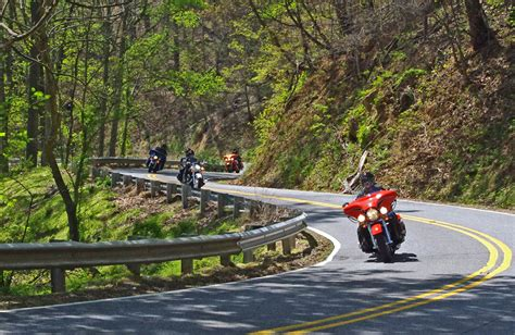 motorcycle riding a fun motorcycle ride out of maggie valley nc travel