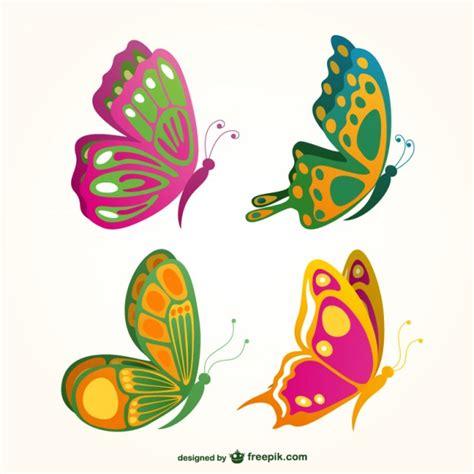 imagenes mariposas para descargar colecci 243 n de mariposas de colores descargar vectores gratis