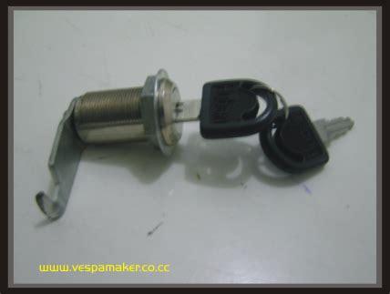 Kunci Vespa vespa maker modifikasi kunci box vespa small frame