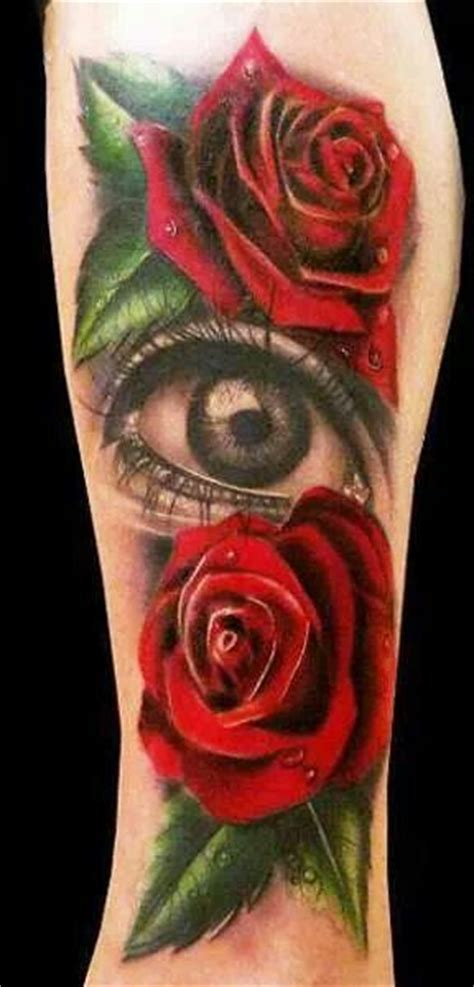 tattoo eye rose roses with eye on arm tattoos pinterest eyes and roses