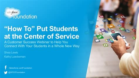 What To Put In The Middle Of Your Kitchen Table by How To Put Students At The Center Of Service Webinar