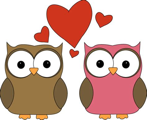Owl Lovers by Owl Love Clip Art Owl Love Image