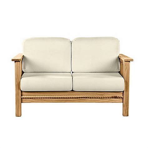 cottage loveseat the official this end up cottage collection