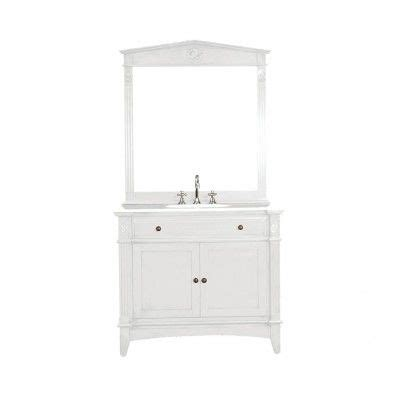 recollections bathroom vanity recollections somerset single vanity antique white 1495
