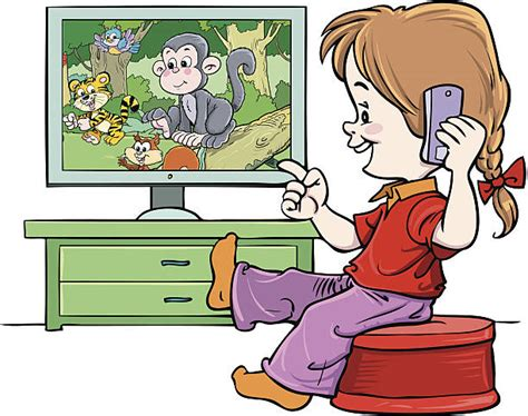 tv clipart menonton pencil and in color tv clipart menonton watching tv tv clipart child watch pencil and in color tv