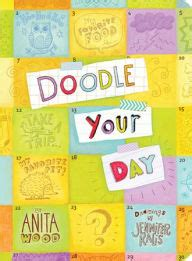 doodle club for nook doodle your day by kalis wood paperback
