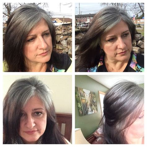 hispanic grey hair transition 61 best gray is the new black images on pinterest going