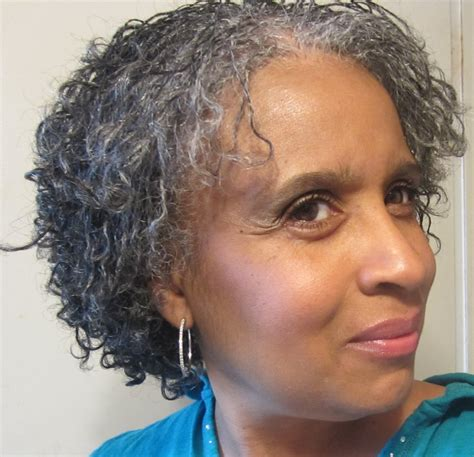 mini twist on gray hair going gray naturally my favorite natural hair style